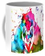 Gene Simmons Paint Splatter Coffee Mug