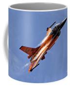 General Dynamics F-16am Fighting Falcon Coffee Mug