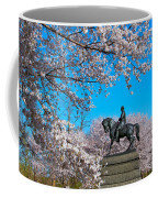 General In The Cherry Blossoms Coffee Mug