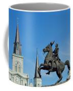 General Jackson Statue Coffee Mug