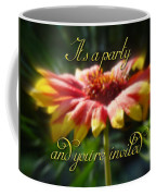 General Party Invitation - Blanket Flower Wildflower Coffee Mug by Mother Nature