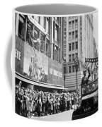 General Patton Ticker Tape Parade Coffee Mug
