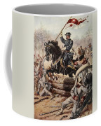 General Sheridan At The Battle Of Five Coffee Mug