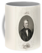 General Zachary Taylor, From The History Of The United States, Vol. II, By Charles Mackay, Engraved Coffee Mug