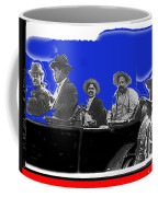 Generals Fierro And Villa Riding In Car #2 No Known Location Or Date-2013 Coffee Mug