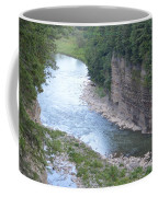 Genesee River In Grand Canyon Of East Coffee Mug