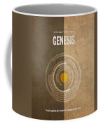 Genesis Books Of The Bible Series Old Testament Minimal Poster Art Number 1 Coffee Mug