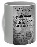 Gentleman 4 Coffee Mug