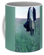 Gentleman Walking In The Country Coffee Mug