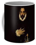 Gentleman With His Hand On His Chest Coffee Mug