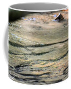 Gently Gliding Water Abstract Coffee Mug