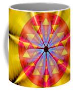 Geo-cosmic Sri Yantra Coffee Mug