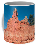 Geological Forces At Red Canyon Coffee Mug