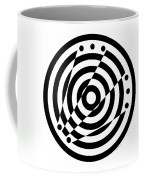 Geometric Circle 6 Coffee Mug