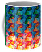 Geometric Cloud Cover Coffee Mug