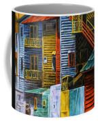 Geometric Colours I Coffee Mug by Xueling Zou