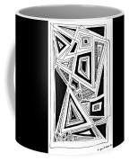 Geometric Doodle 2 Coffee Mug by Sarah Loft