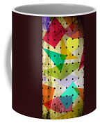 Geometric In Colors  Coffee Mug by Mark Ashkenazi