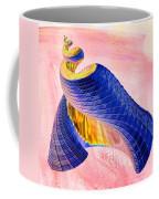 Geometric Shell Art Coffee Mug by Deborah Benoit