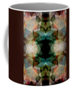 Geometric Textured Abstract  Coffee Mug
