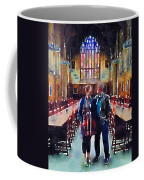 George And Chrissy At Hogwarts Coffee Mug