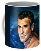 George Clooney 2 Coffee Mug