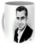 George Clooney Coffee Mug by Andrew Read