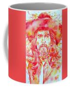 George Harrison With Hat Coffee Mug