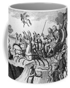 George IIi Cartoon, 1775 Coffee Mug