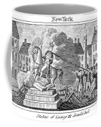 George IIi Statue, 1776 Coffee Mug