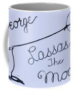 George Lassos The Moon Coffee Mug