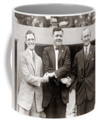 George Sisler Babe Ruth Ty Cobb Coffee Mug