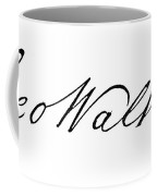 George Walton (1741-1804) Coffee Mug
