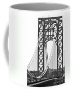 George Washington Bridge Nj Tower Coffee Mug