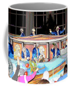 George Washington Float Side View Coffee Mug