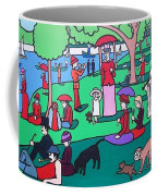 George Seurat- A Cyclops Sunday Afternoon On The Island Of La Grande Jatte Coffee Mug