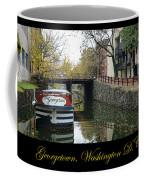 Georgetown Canal Poster Coffee Mug