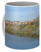 Georgetown University Neighborhood Coffee Mug by Olivier Le Queinec