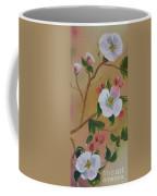 Georgia Flowers - Apple Blossoms- Stretched Coffee Mug