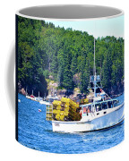 Georgia Madison Lobster Boat Coffee Mug