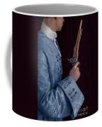 Georgian Man Holding A Flintlock Pistol Coffee Mug