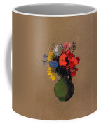 Geraniums And Flowers Of The Field Coffee Mug