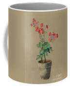 Geraniums In A Pot  Coffee Mug