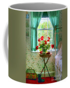 Geraniums In The Bedroom Coffee Mug