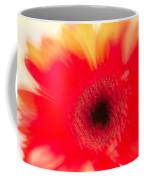 Gerbera Daisy Abstract Coffee Mug
