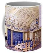 German Dining Hall, Early 20th Century Coffee Mug