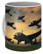 German Heinkel Bombers Taking Coffee Mug