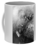 German Soldiers Launch A Suprise Attack On Bunker 17. Coffee Mug