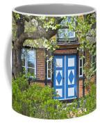 German Timber-framed Country House Coffee Mug by Heiko Koehrer-Wagner