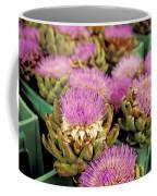 Germany Aachen Munsterplatz Artichoke Flowers Coffee Mug